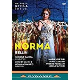 Vincenzo Bellini: Norma [Rubens Pelizzari; Nicola Ulivieri; Maria José Siri; Sonia Ganassi; Michele Gamba] [Dynamic: 37768] [DVD]